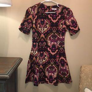 Tobi floral mini dress in XS